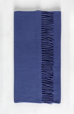 "SCARF ""SAFALANO CASHMERE"" dark blue 50х200"