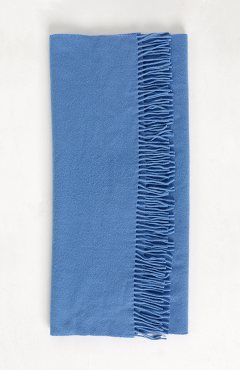 "SCARF ""SAFALANO CASHMERE"" blue 50х200"