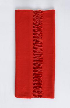 "SCARF ""SAFALANO CASHMERE"" fiery red 70х200"