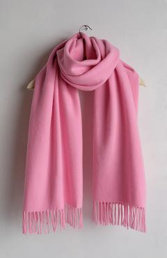 "SCARF ""SAFALANO CASHMERE"" hot pink 50х200"