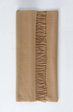 "SCARF ""SAFALANO CASHMERE"" beige 30х200"