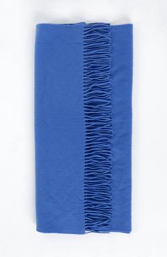 "SCARF ""SAFALANO CASHMERE"" blue 70х200"